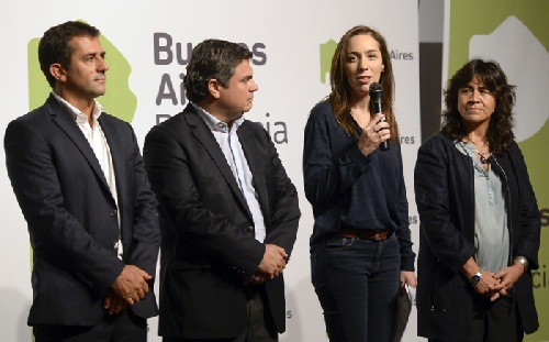 La gobernadora Vidal anunció fuertes aumentos para comedores escolares,medicamentos e insumos hospitalarios y jubilaciones bonaerenses