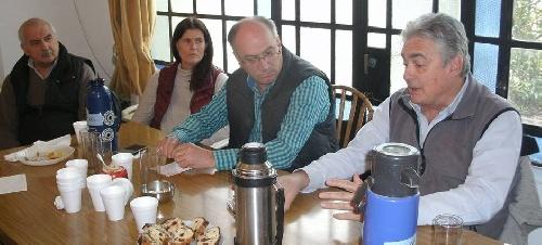 Linares y Grenada en la reunion seccional del GEN en nuestra ciudad