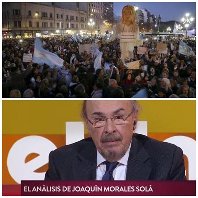 Morales Solá: La expresión del hartazgo ante una corporación política aislada