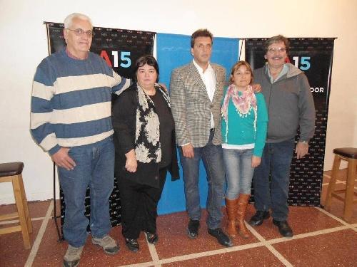 Frente Renovador: propuestas de Marcela Guido,  Ricardo Berdondini, Patricia Combes y Marcelo Roux