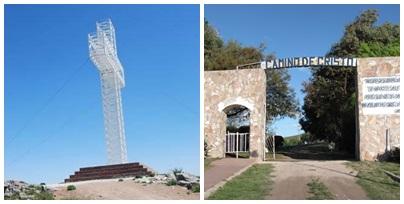 Via Crusis en el Calvario del Cerro de la Cruz de Pigüé