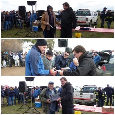 Concurso de pesca organizado por Bomberos Voluntarios Saavedra al pejerrey de mayor peso