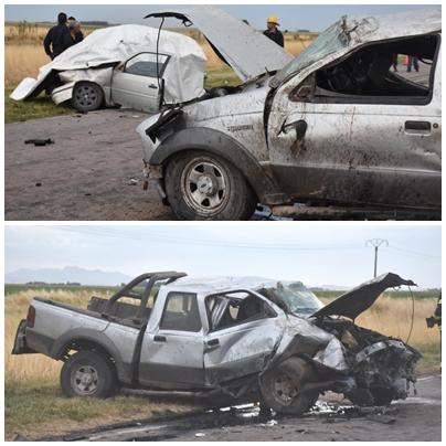Fatal accidente en Ruta Nacional 33 - Fallecieron  jóvenes de Pigüé, Espartillar y Carhüé