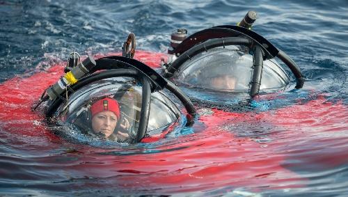 Susanne Lockhart, la científica que se animó a llegar al fondo del Océano Antártico