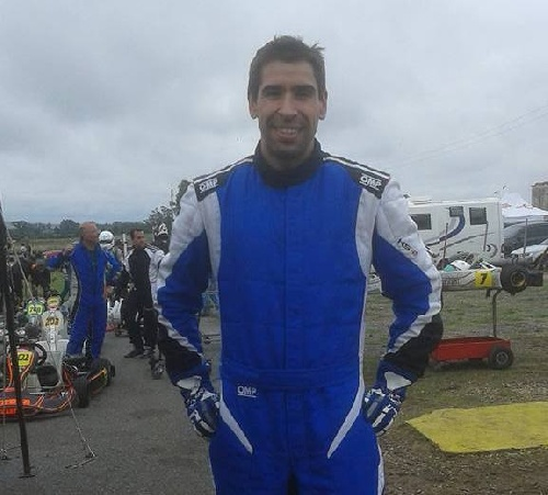 Karting - Fernando Gómez Fredes finalizo 3° en Sudam Master.