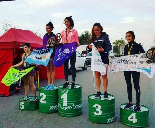 Atletismo - Yani Clair 2da en los 5 km de Quenumá.