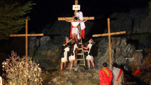 Via Crusis viviente en la Ermita Nuestra Señora de Luján de la Sierra de Saavedra