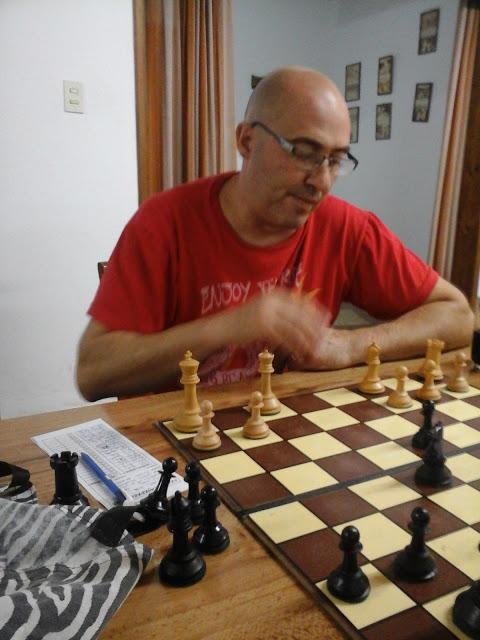 Ajedrez - César Dellapittima ganó el blitz de agosto.