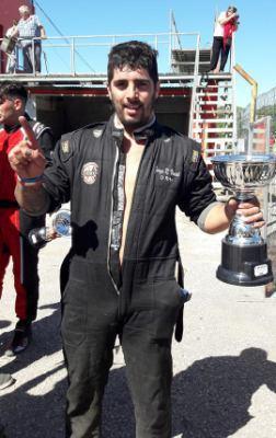Fórmula 3cv - Federico Vincet obtuvo la 2da final en el Ciudad de Pigüé.