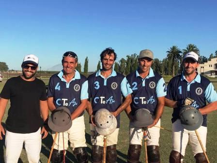 Polo - El elenco de Amigo y Vigoroux está en la final de la Copa Cañuelas.