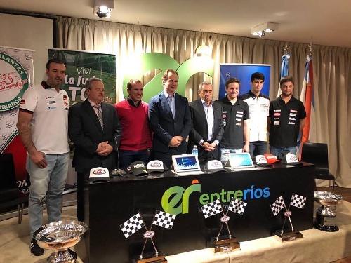 Turismo Carretera - Con la presencia de Sergio Alaux se presentó la carrera de Paraná.