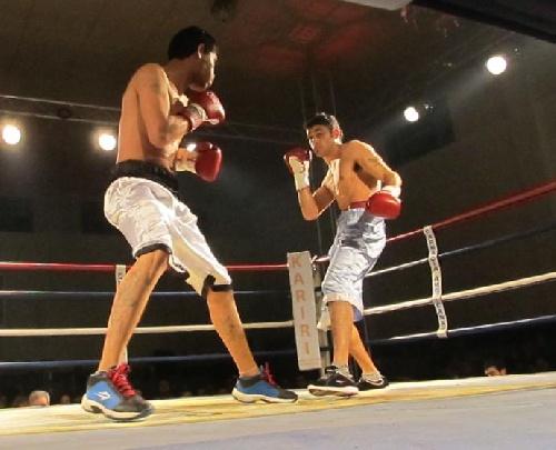 Box Welter AMB Título FEDEBOL - Derrota del pigüense Alfi Blanco en la noche del viernes en Zárate.