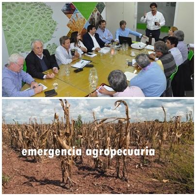 Declararon la Emergencia Agropecuaria  por sequía para el Distrito de Saavedra y 26 municipios bonaerenses más