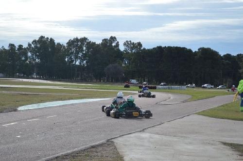 Karting - Hubo competencia en el Autódromo Ciudad de Pigüé.