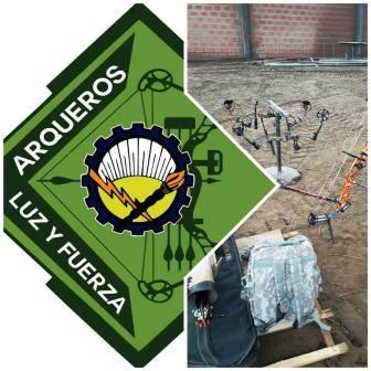 Arquería - Nutrida participación de tiradores locales en Luz y Fuerza de Bolivar.