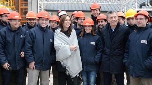 El presidente Macri en Bahia Blanca: sobre las coimas en el kirchnerismo: