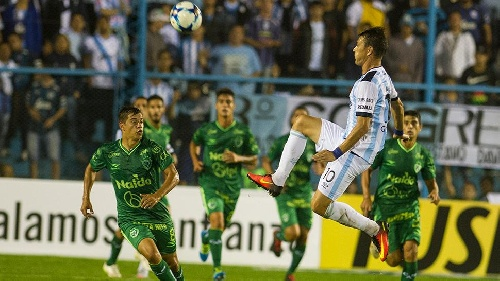 AFA - 1ra División - Atlético Tucumán con Leo González derrotó a Sarmiento de Junín.