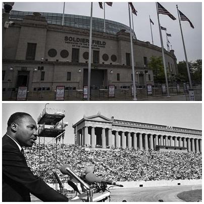 De Martin Luther King a los Rolling Stones: historias del estadio donde juega la selección
