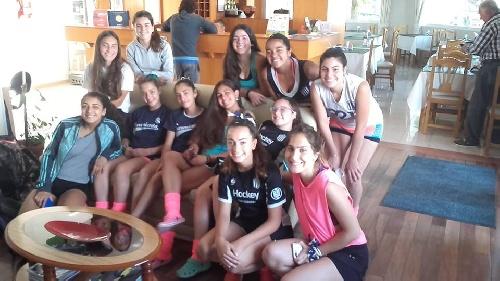 Hockey Femenino - Sarmiento Sub 16 comenzó su participación en Tandil.