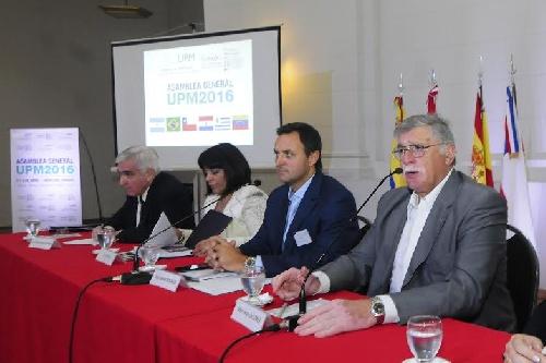 Senador Horacio López en la Asamblea General del Mercosur 2016