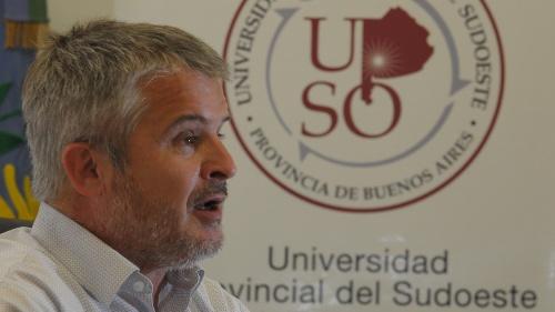 """Vigier: """" la  UPSO  seguirá trabajando con la UNS sin ningún inconveniente"""""""
