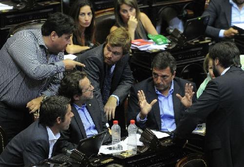 ¿Destituyente ? En un audio Massa compara a Macri con De La Rúa y le baja línea a su tropa
