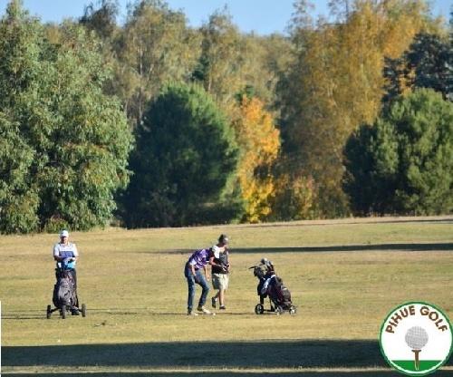 Hector Hirigoyen triunfó en 18 medail play del Club de Golf Pigüé