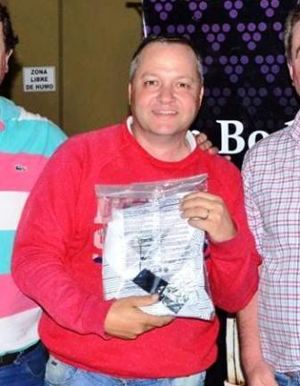 Golf - Francisco Ustarroz y Fernando Beltran ganadores del 18 hoyos medal play.