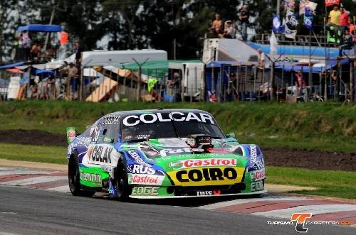 Turismo Carretera - Rayo Mazzacane con el tiempo de ayer se quedó con la pole position del día sábado - Alaux 14°.