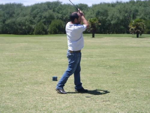 Golf - Mauro Martínez y Matías De Caso ganadores en el Pigüé Golf.