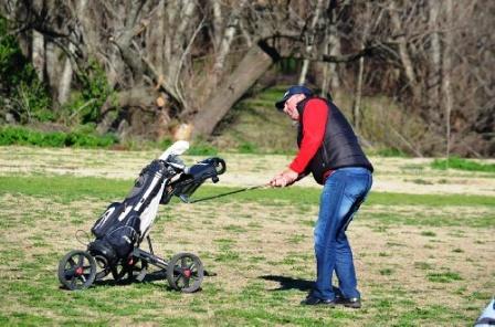 Golf - Omar Gurruchaga y Carlos Grigoriades ganadores en el club local.