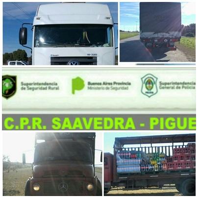 Infracciones labradas por el Comando de Prevención Rural de Saavedra - Pigüé