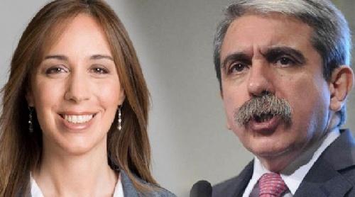 Durísima respuesta de la Gobernadora María Eugenia Vidal a Aníbal Fernández