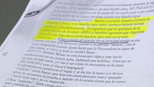 Las amenazas que recibía Nisman