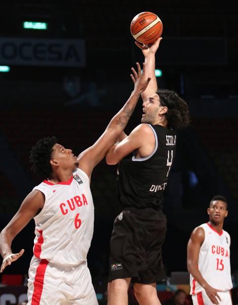 Basquet FIBA - Argentina venció a Cuba 96 a 64 y clasifica para la próxima ronda.