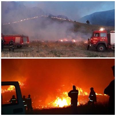 Bienvenida lluvia de Navidad; el agua apagó el fuego en la sierras de Saavedra y Tornquist