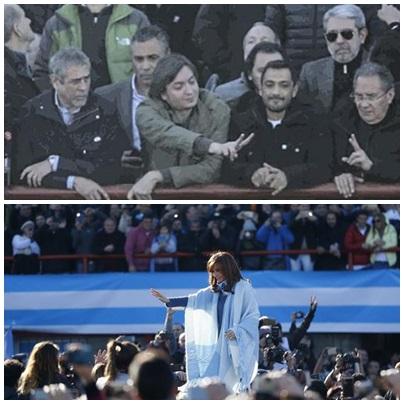 Quiénes acompañaron a Cristina en el lanzamiento de Unidad Ciudadana
