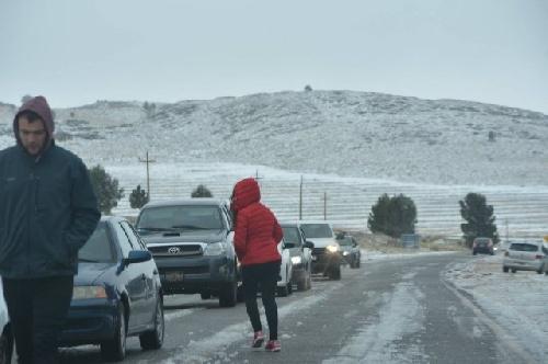 ATENCION: se mantendrá abierta la Ruta Pcial 76 en la Comarca de Sierra de la Ventana pero se recomienda transitar con precaución