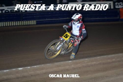 Speedway - Presencia de Oscar Maurel en Carlos Casáres