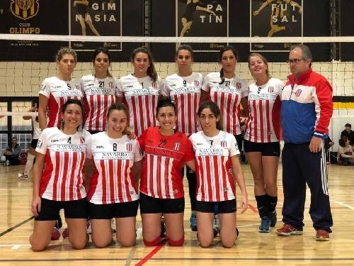 Voley Femenino - Victoria del Maxi en Bahía Blanca para Unión Pigüé. Derrota en primera.