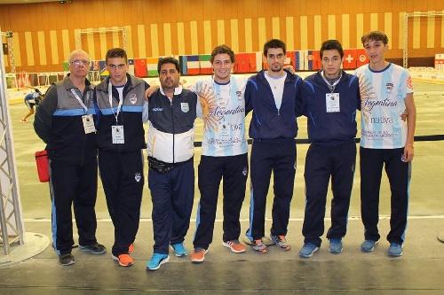 Mundial de Bochas - Jorge André fue el Jefe de la delegación juvenil que se presentó en Mónaco. Campeón Mundial en Tiro de Precisión.