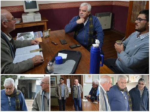 El  intendente visitó Goyena