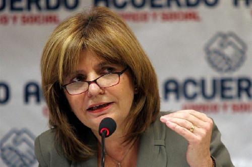 La Ministra Bullrich en lucha contra el Narcotráfico