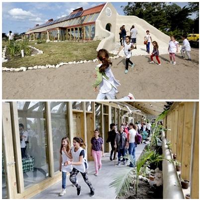 Se inuguró la primera escuela totalmente sustentable del país en Mar Chiquita