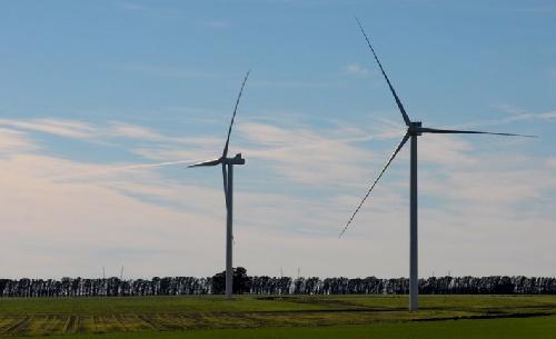 Comenzaron los trabajos para la instalación de tres parques eólicos en Tornquist