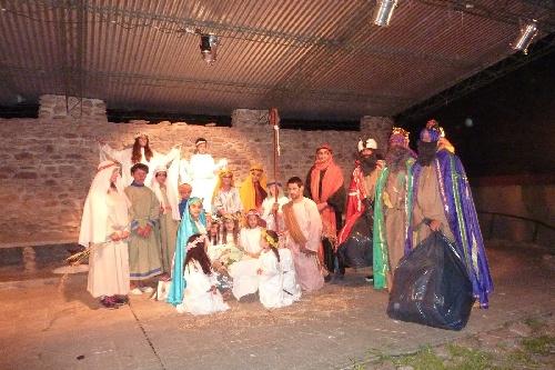 Reyes Magos en la Ermita de Saavedra