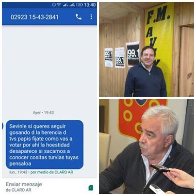 El intendente Corvatta repudió el anónimo intimidatorio al concejal Sevenié