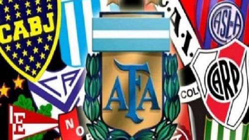 AFA - 1ra División . Partidos jugados hasta el momento.