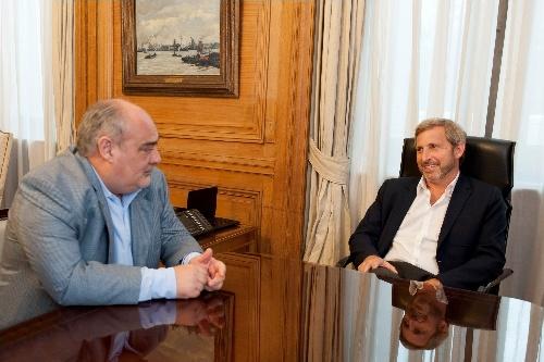 Frigerio se reunió con el Gobernador de Corrientes