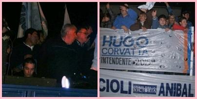 Corvatta fue reelecto por amplio margen Intendente del Distrito de Saavedra